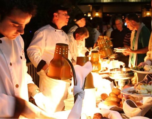 Corporate Event Enhancement: Catering