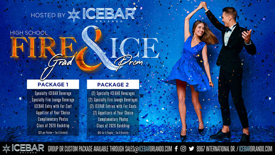 ICEBAR Highschool Prom Packages